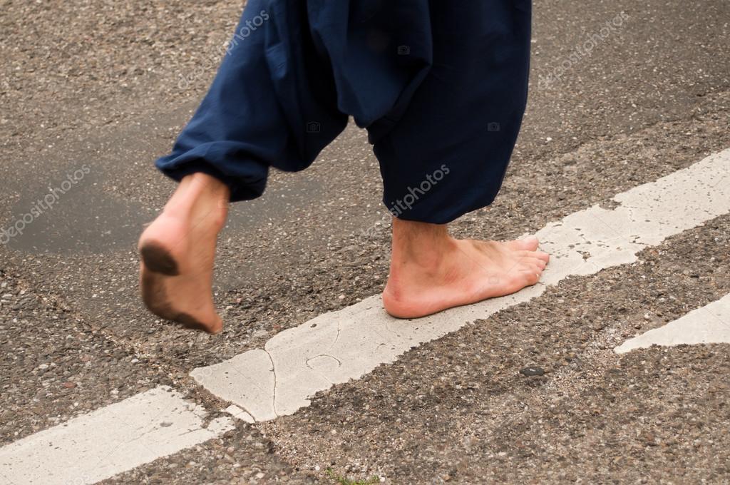 Sin En Hippie La CalleHombre Caminando Zapatos n0wkXZON8P