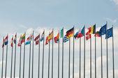 evropské vlajky