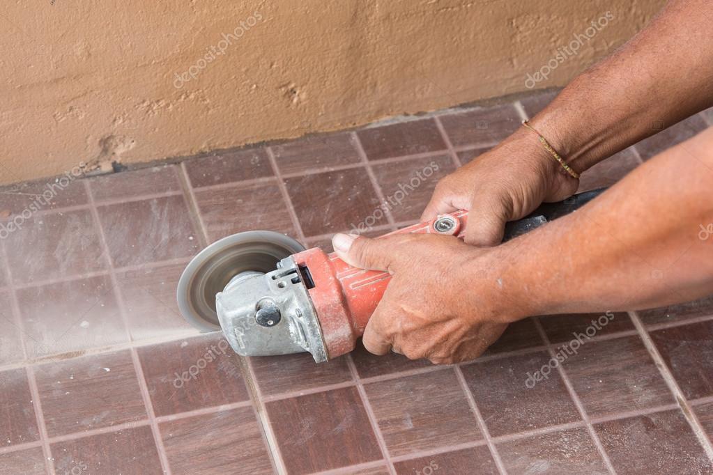 Fußboden Im Haus ~ Fußboden fliese installation für haus u2014 stockfoto © kanoke46 #89265452