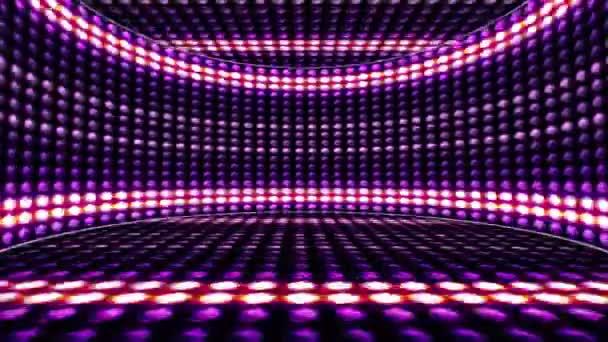 Izzó fények szoba háttér, hurok, 4k vonalak