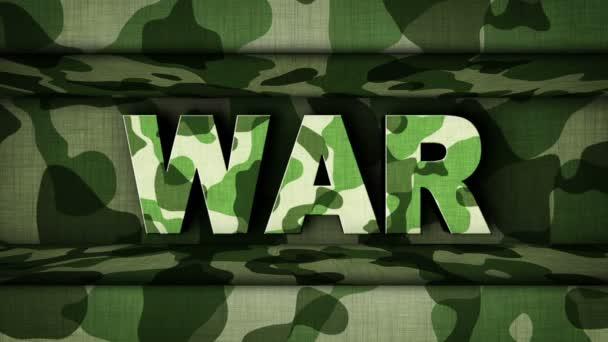 Válka Text ve vojenské dveře