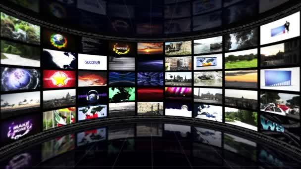 Üres monitorok szoba háttér