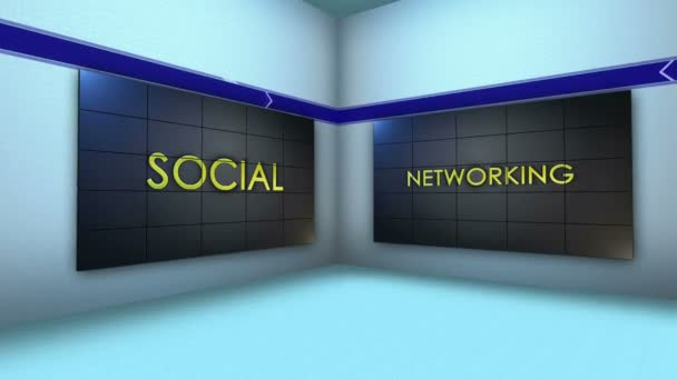 Social Network Keywords in Monitor and Room