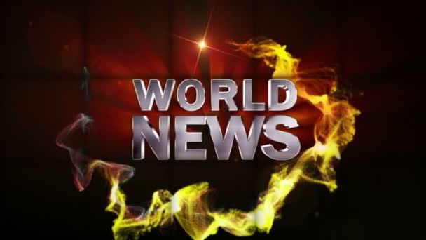 Zprávy ze světa v padající kostky