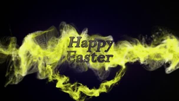 Frohe Ostern in Teilchen