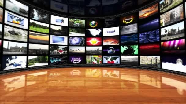 Monitorok szoba, technológiai fogalmak, hurok, 4k