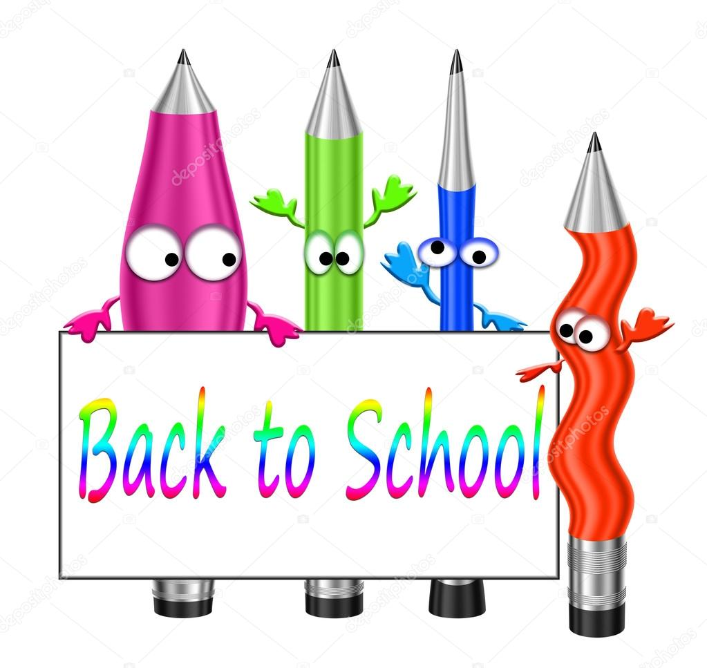 Cartoon crayons Stock Photo ralwel 53438027