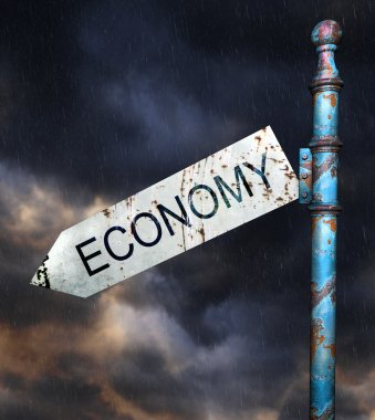 Concept for economic recession