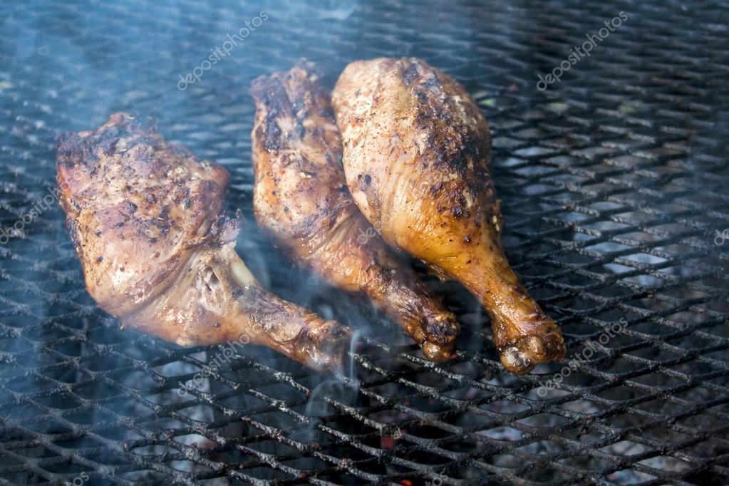 Cuisses De Poulet Barbecue Photographie Ralwel C 53445561