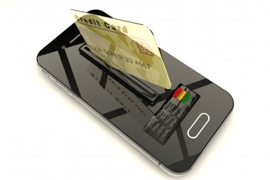 Credit Card and mobile phone