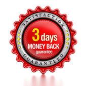 3 napos pénz vissza bélyegző