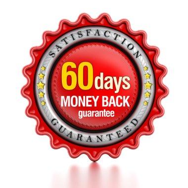 60 days money back stamp