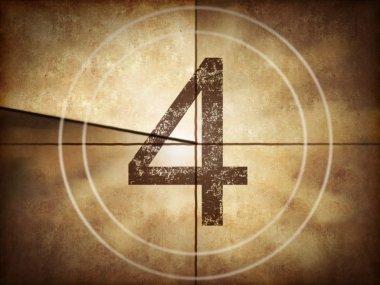 Old movie countdown number 4