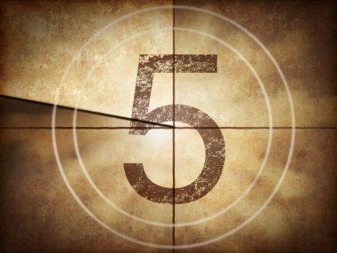Old movie countdown number 5