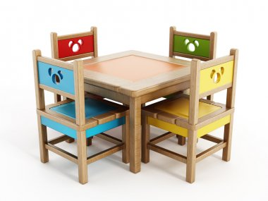 Children's Tables And Chairs