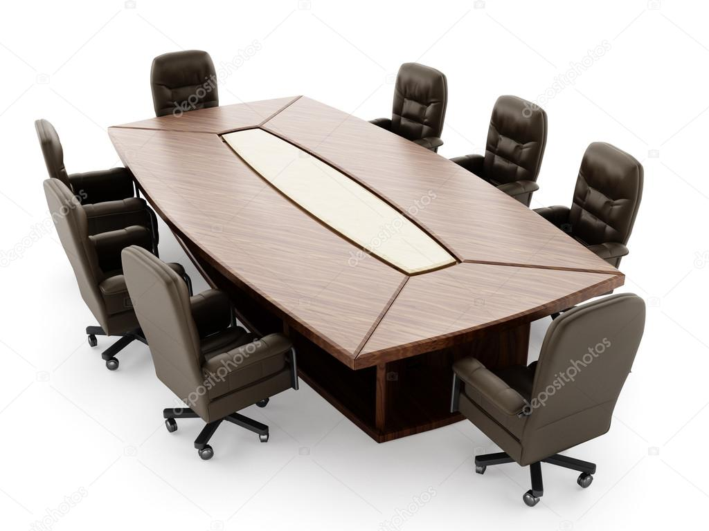 Sedia e tavolo della sala riunioni u foto stock destinacigdem