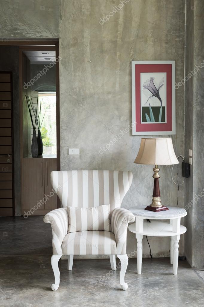 interior design soggiorno stile moderno — Foto Stock © Sutichak ...