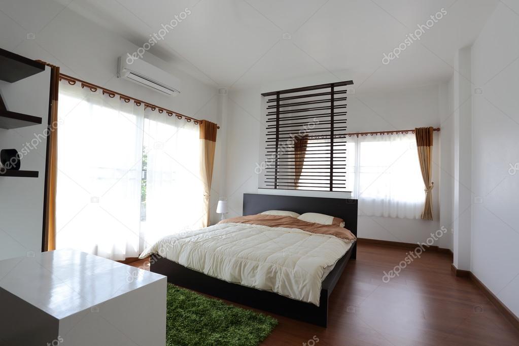 Casas modernas interiores dormitorios dise o de for Diseno de dormitorio blanco