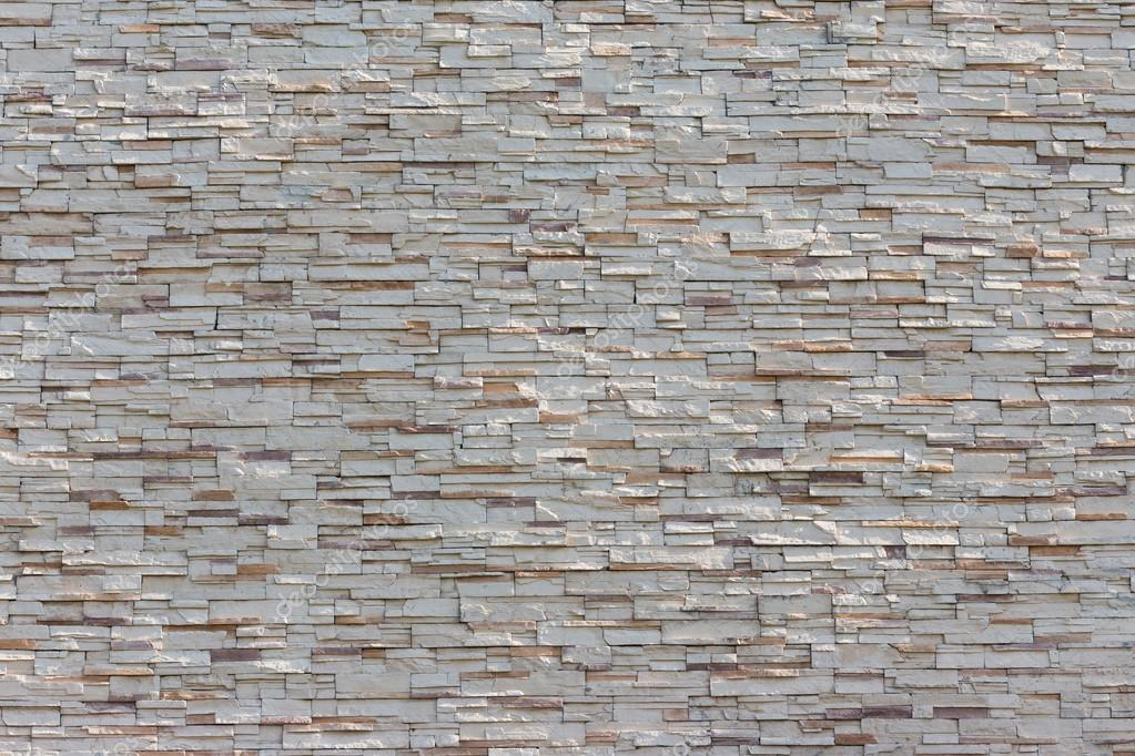 Stone White Wall Texture Decorative Interior Wallpaper Stock Photo