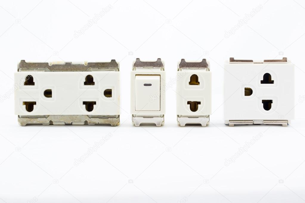 Electrical plug switch — Stock Photo © panuphon #82307706