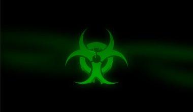Biohazard Toxic Background