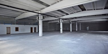 Empty factory space