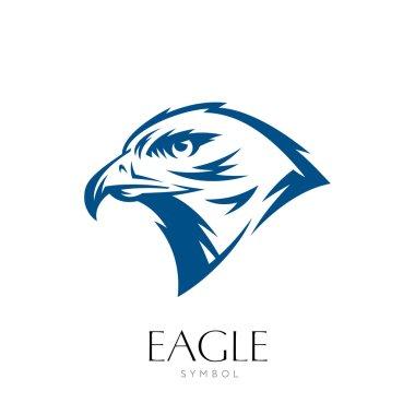 Eagle Head Original Graphic Symbol.