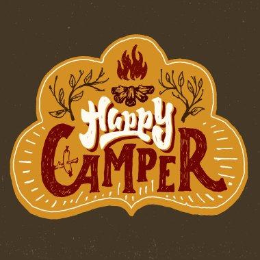 Happy Camper badge