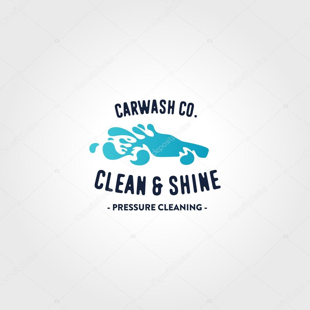 Car Wash Logo Template Stock Vector C Tortugastudio 114967158