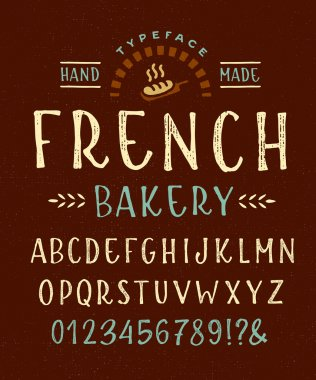 Font 'French Bakery'