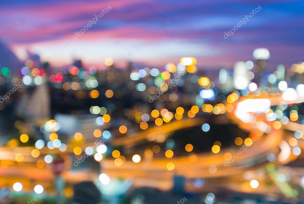 desenfoque ciudad