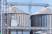 Photo Storage facility cereals, and biogas production