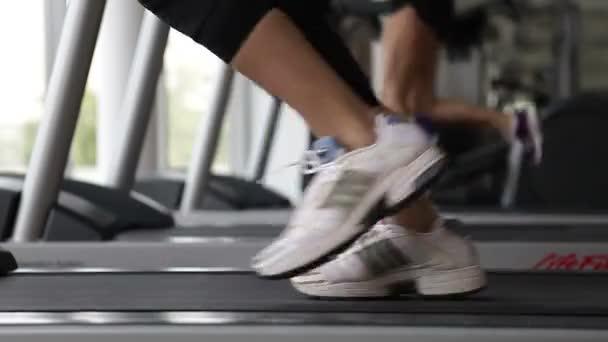 Běží treademill