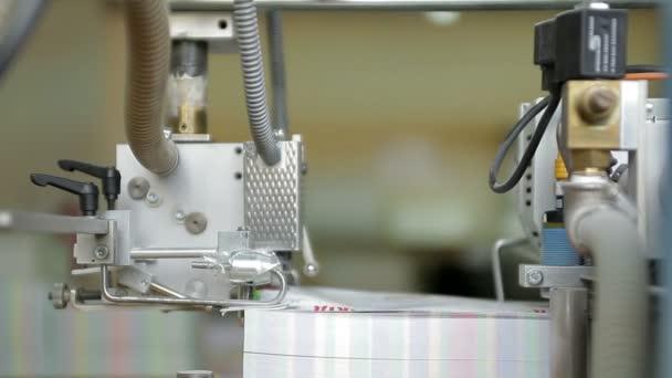Noviny výrobní linky. Tiskový lis webset