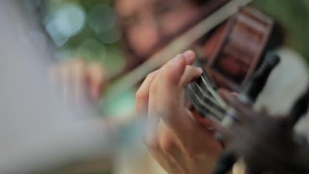 Geigenspiel im freien