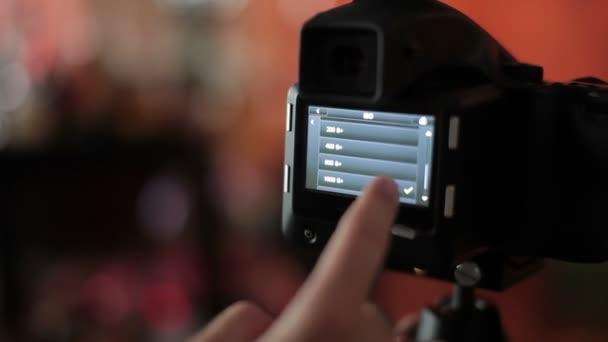 Fotograf, fotografieren, Foto-Kamera-Einstellungen