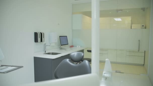 dental clinic interior design with chair and tools contemporary