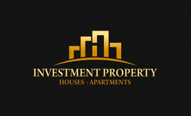 Investment Property Real Estate Logo