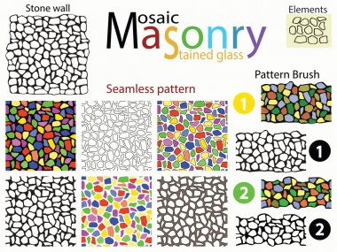 Set of seamless textures.