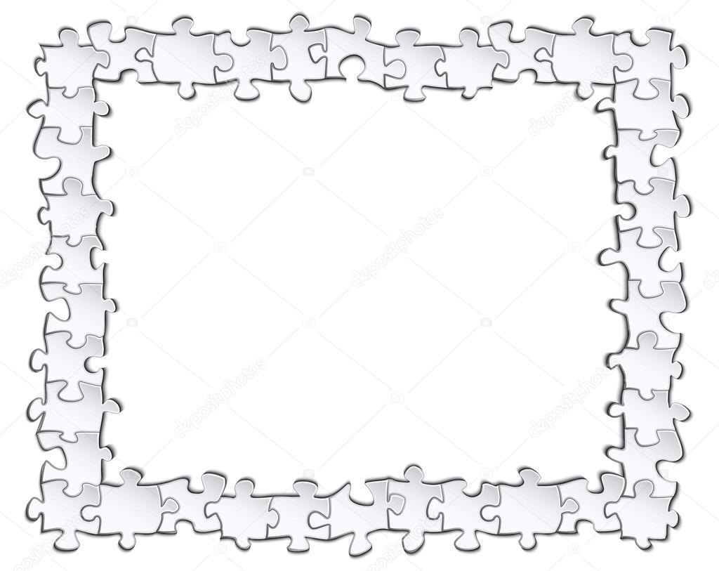 Bilderrahmen Puzzle — Stockvektor © Pavel.A.V. #119073938