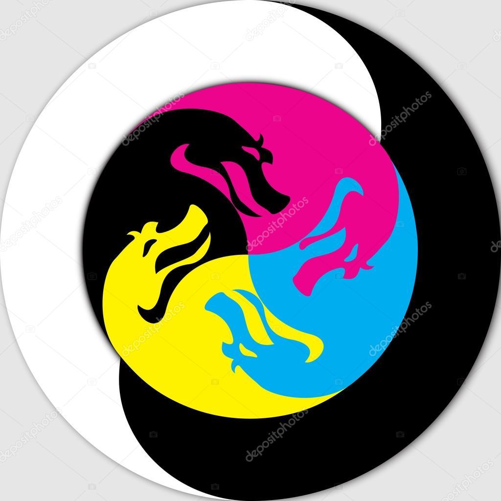 Yin and Yang - Dragon