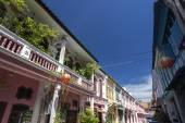 Fotografia centro storico di phuket si trova sulla città di phuket
