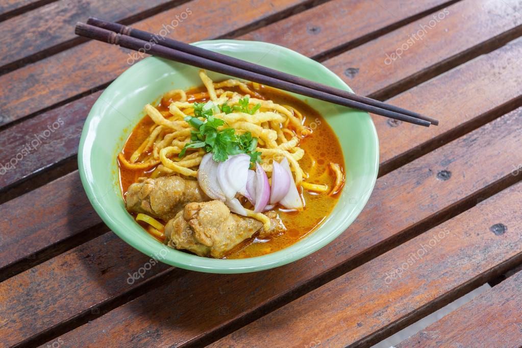 Khao Soi Rezept Thai-Küche — Stockfoto © anan796 #81441402