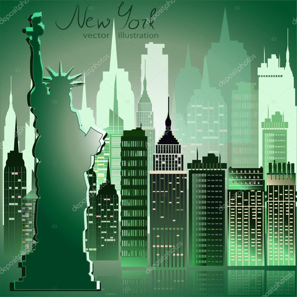 modern new york city