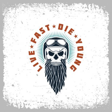Live fast die young label