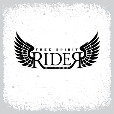 Rider free spirit label