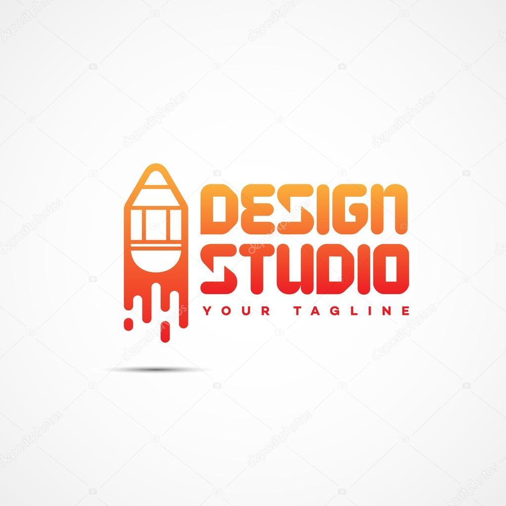 Design Studio Logo Stock Vector C Jazzzzzvector 105102408