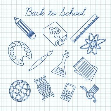 symbols for school subjects
