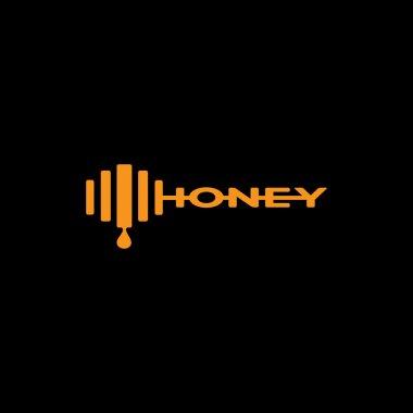 logo for honey bee