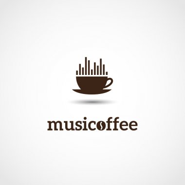 coffee and music logo